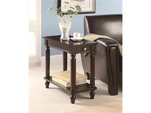 Traditional Chair Side Table by Coaster