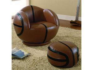 All Star Small Basketball Chair  Ottoman by Coaster