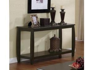 Cappuccino Sofa Table by Coaster Furniture