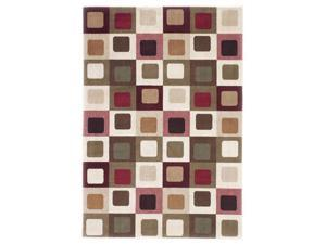 """Famous Collection""eRed  Rug By ""Famous Brand"""
