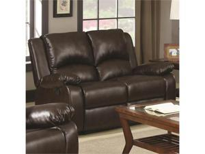 Casual Double Reclining Love Seat by Coaster