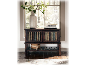 Console in Rustic Brown - Signature Design by Ashley Furniture