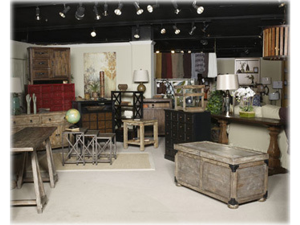 Rustic Accent Cabinet in Brown by Ashley