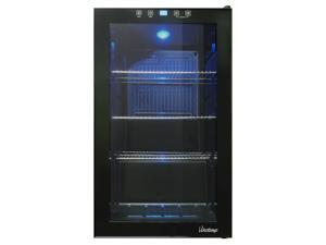 VT-34 Touch Screen Beverage Cooler in Black by Vinotemp