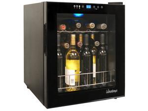 15-Bottle Touch Screen Wine Cooler in Black by Vinotemp