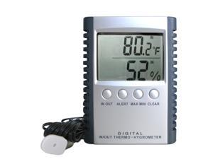 VT-Thermohygro Wine and Humidity Gauge by Vinotemp