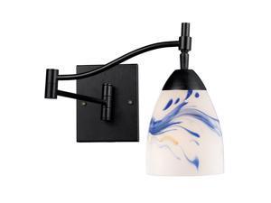 Elk Lighting Celina 1-Light Swing arm Sconce, Dark Rust - 10151-1DR-MT