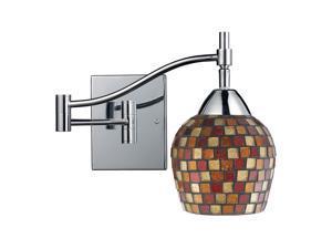 Elk Lighting Celina 1-Light Swing arm Sconce in Polished Chrome - 10151-1PC-MLT