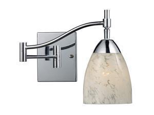 Elk Lighting Celina 1-Light Swing arm Sconce in Polished Chrome - 10151-1PC-SW