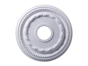 Elk Lighting Campione Medallion 16 Inch in White Finish - M1001WH