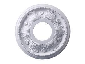 Elk Lighting Acanthus Medallion 11 Inch in White Finish - M1000WH