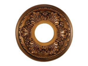 Elk Lighting Acanthus Medallion 11 Inch in Antique Bronze Finish - M1000AB
