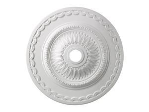 Elk Lighting Brookdale Medallion 30 Inch in White Finish - M1008WH