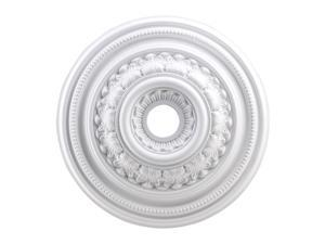 Elk Lighting English Study Medallion 24 Inch in White Finish - M1012WH