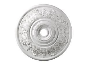 Elk Lighting Lauerdale Medallion 30 Inch in White Finish - M1014WH