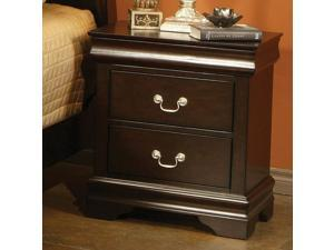 Coaster 203982N Louis Philippe Night Stand, Cappuccino