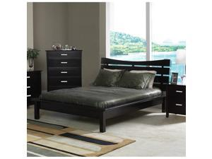 Company Cappuccino Queen Slat Platform Bed by Coaster Furniture