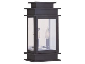 Livex Lighting Princeton Outdoor Wall Lantern in Bronze - 2014-07
