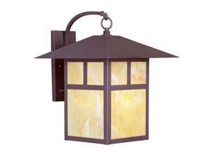 Livex Lighting Montclair Mission Outdoor Wall Lantern in Bronze - 2143-07