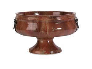 Elnora Wide Bowl w/ Metal Handle