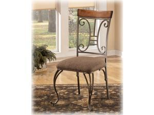 Dining Upholstered Side Chair in Brown - Signature Design by Ashley Furniture (Set of 2)