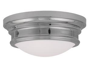Livex Lighting Astor Ceiling Mount in Chrome - 7343-05