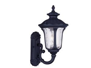 Livex Lighting Oxford Outdoor Wall Lantern in Black - 7850-04