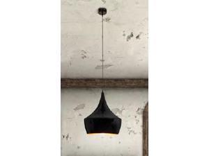 Copper Ceiling Lamp in Black by Zuo Era