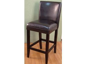 4D Concepts Deluxe Brown Barstool in Brown