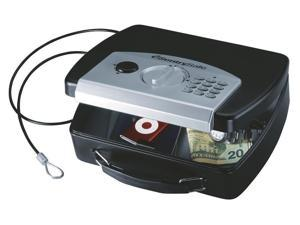 Compact Safe Black Electronic Lock