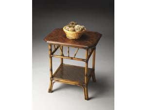 Butler Lamp Table, Heritage Finish