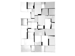 Zuo Modern Fractal Mirror Wood Frame
