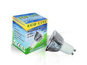 ECO-Lite Dimmable 9W LED MR16 GU10 base Flood 45 Soft White bulb ~ 50w equiv