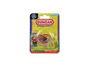 Multi-Colored Yo-Yo String Assortment by Duncan (5 Pack of String)