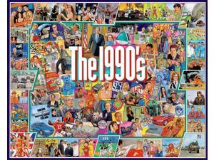(NEW) Nineties Jigsaw Puzzle, 1000-Piece