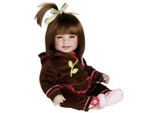 """Adora Baby Doll, 20 inch """"Workout Chic"""" Brown Hair/Brown Eyes"""