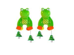 The Interactive Pacifier Toy Holder by PullyPalz includes Puddles the Frog 2-pack Combo