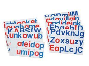 DOWLING MAGNETS DO-LB1 LETS BUILD WORDS-109 PIECES 3 NO PLAYBOARD