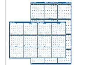 HOUSE OF DOOLITTLE HOD395 Wall Calendar,Fiscal,24x37 In G8983441