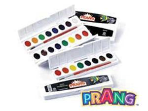 PRANG OVAL 8 WATER COLORS