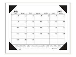 Recycled Economy 14-Month Academic Desk Pad Calendar 22 x 17 2017-2018