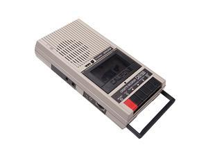 CASSETTE PLAYER & RECORDER
