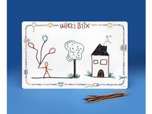WIKKI STIX LAMINATED PLAY MAT 14X22