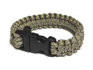 Survival Bracelet w/Whistle - Digital Ca