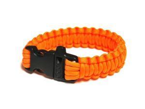 Survival Bracelet w/Whistle- Yellow-Oran