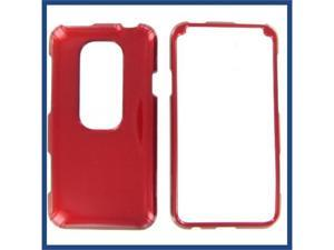 HTC Evo 3D Red Protective Case