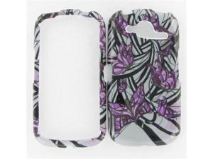 Pantech P9070 (Burst) Purple Butterfly Protective Case