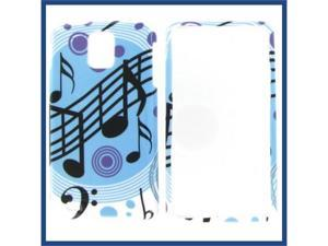 Samsung i997 (Infuse 4G) Blue Music Protective Case