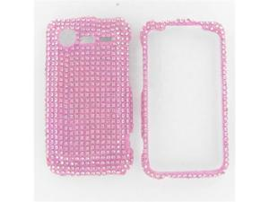 HTC Incredible S / Incredible 2 Full Diamond Pink Protective Case