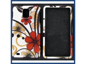 Samsung i997 (Infuse 4G) Six Petal Flower Protective Case